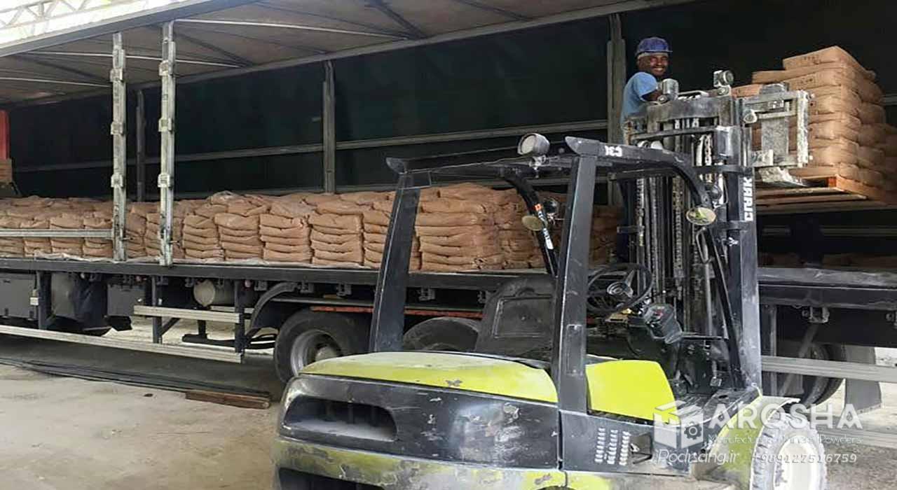 صادرات پودر میکرونیزه کربنات کلسیم به عراق