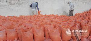 فروش مستقیم پودر سنگ جوشقان کیسه ۲۵ کیلویی